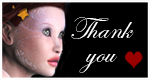 Thank you with red heart 150x80 by tats2