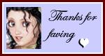 Thanks for faving