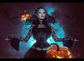 Halloween 2014 (Commission) by Nikulina-Helena