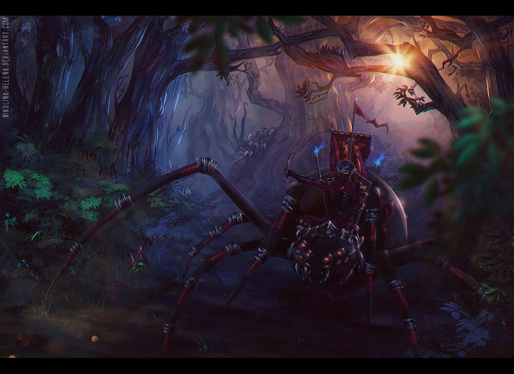 Spider Rider by Nikulina-Helena