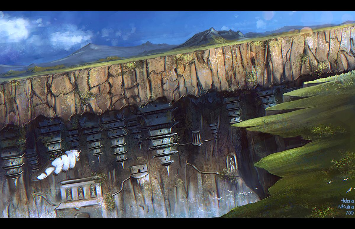 Western Air Temple by Nikulina-Helena