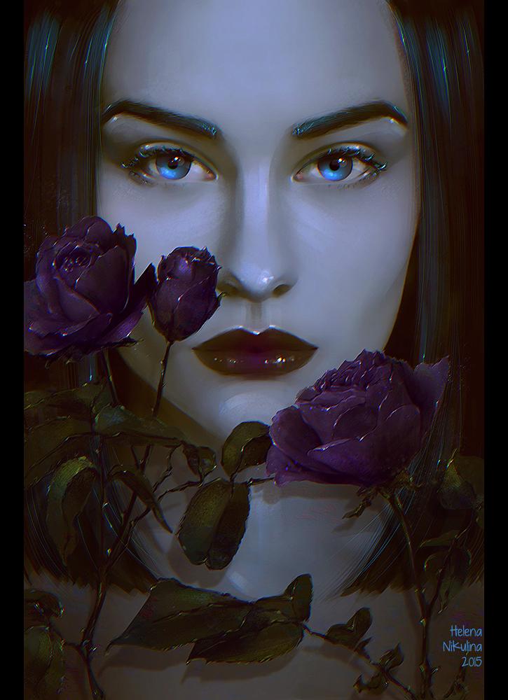 Dark Flower by Nikulina-Helena