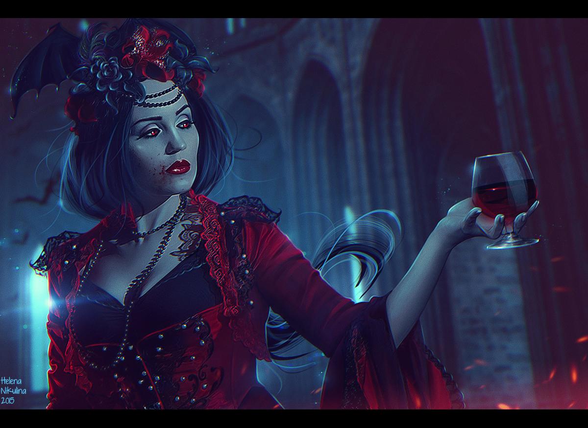 Countess Bathory + Video (Commission) by Nikulina-Helena