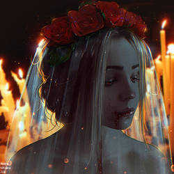 Bloody Bride + Video (Commission) by Nikulina-Helena