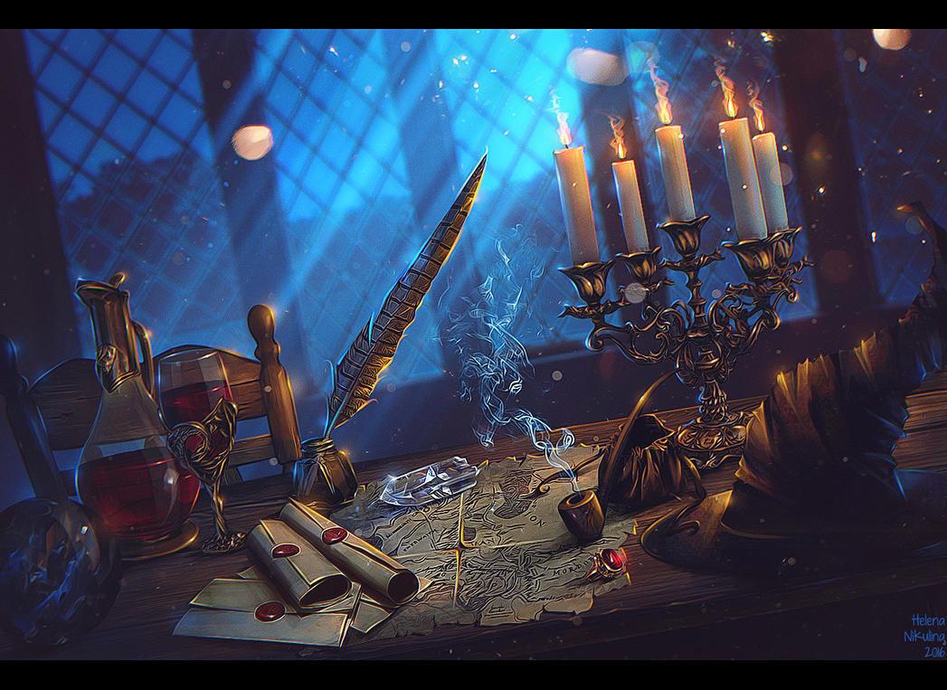 Still life - Gandalf by Nikulina-Helena