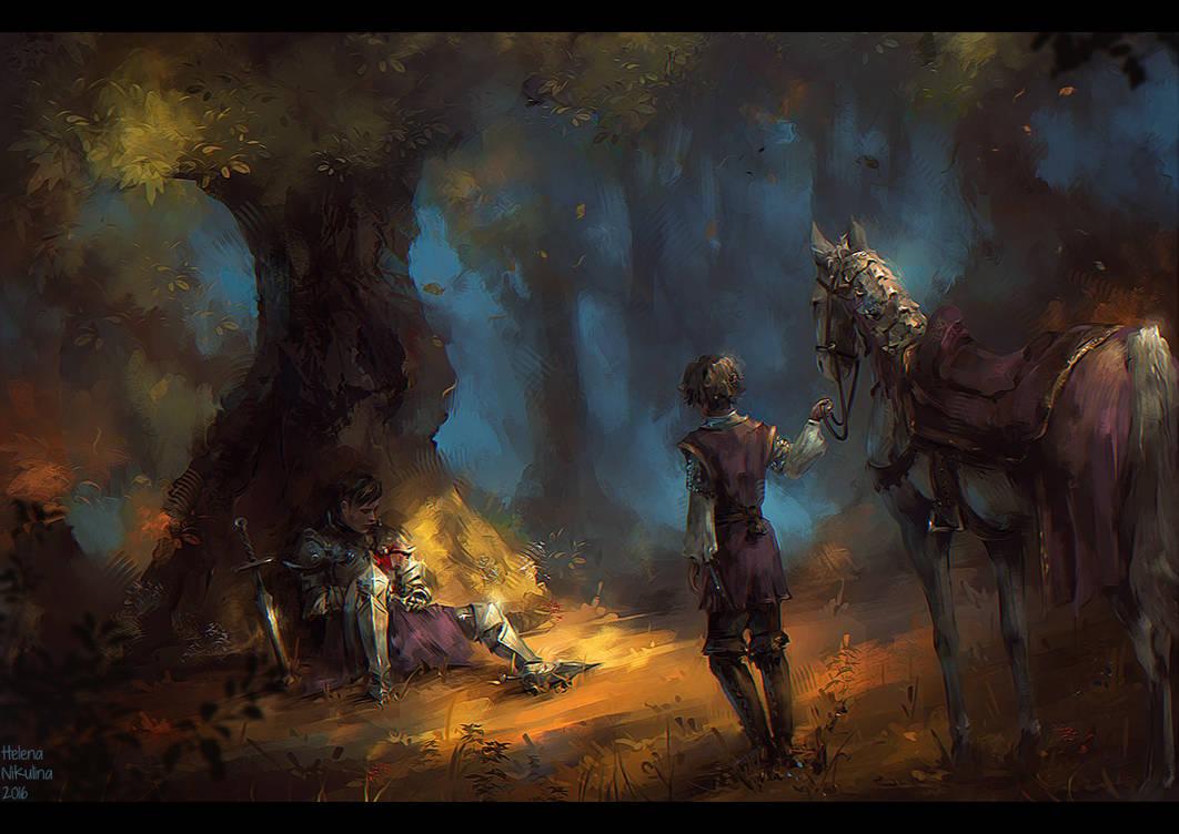 The Last Battle by Nikulina-Helena