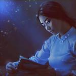 Oriental twilight by Nikulina-Helena