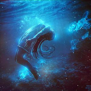 Levitation in the Light by Nikulina-Helena