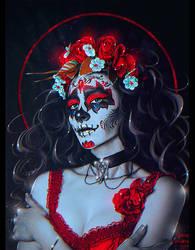 Dia de los Muertos 2017 (Commission) by Nikulina-Helena