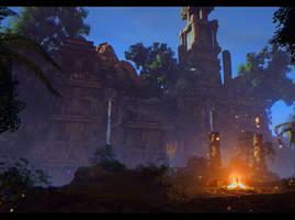 Ancient ruins. Risen 3 Titan Lords by Nikulina-Helena