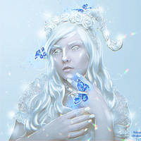 The Alabaster Faun (Commission) by Nikulina-Helena