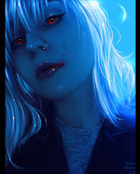 Hi! (Commission) by Nikulina-Helena