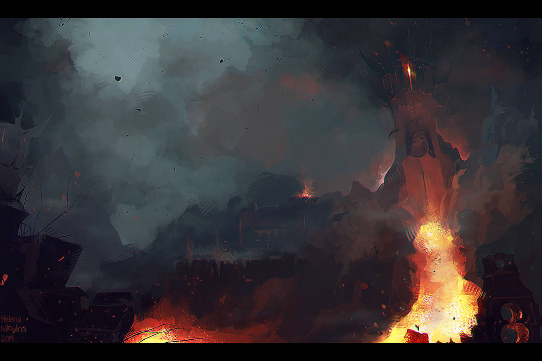 Deadlands (sketch) by Nikulina-Helena