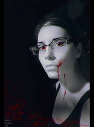 Dark Selfie - VAMPIRE by Nikulina-Helena