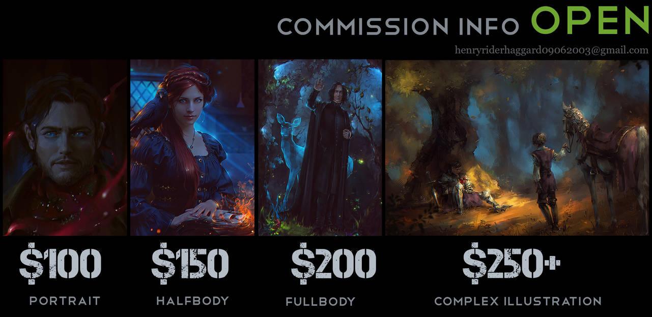 Commission Info by Nikulina-Helena
