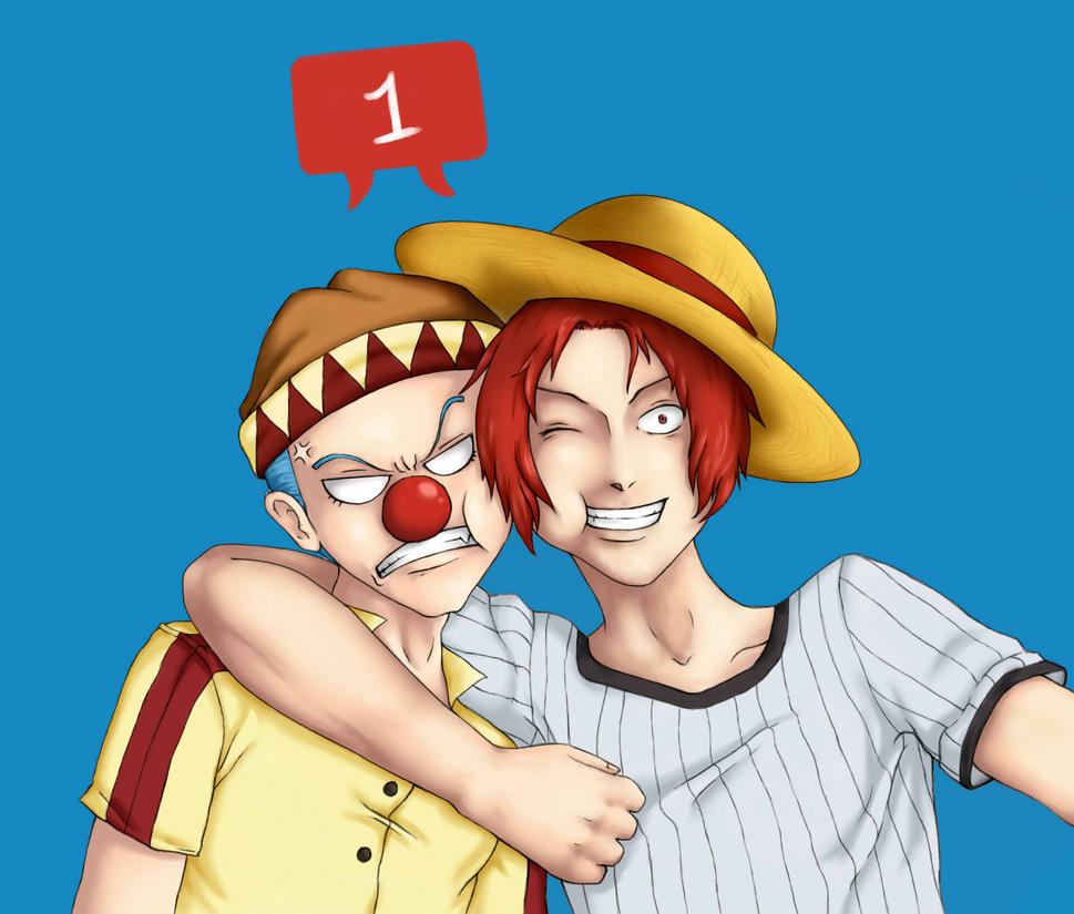 Ask young Shanks and Buggy by BlueShining