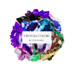 Crystals Colors / Cristales De Colores [Pack #12] by OnlyWolfs