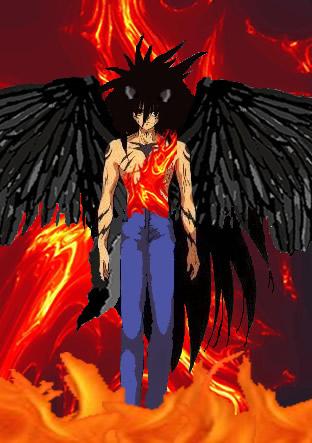 Mazoku yusuke lord of 3 by sephrothlay on deviantart for Yusuke demon