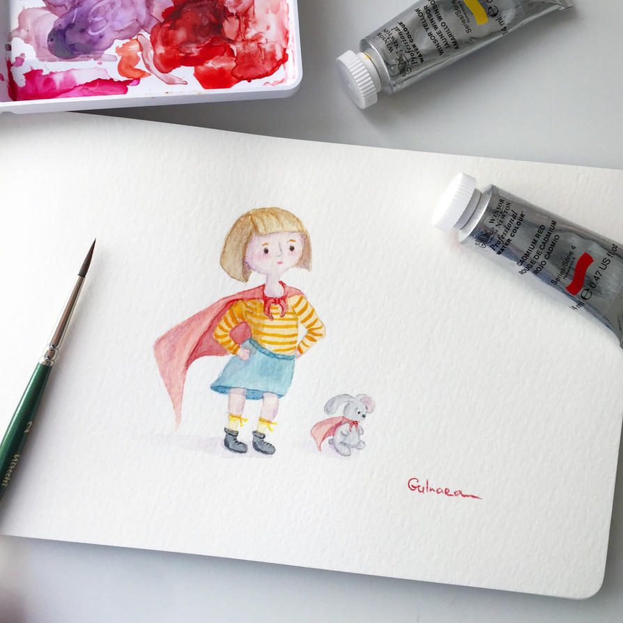 the little superheroe by gmirzaka