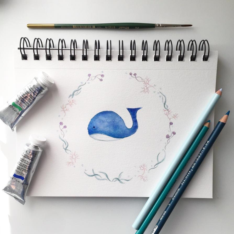 my little whale :D by gmirzaka