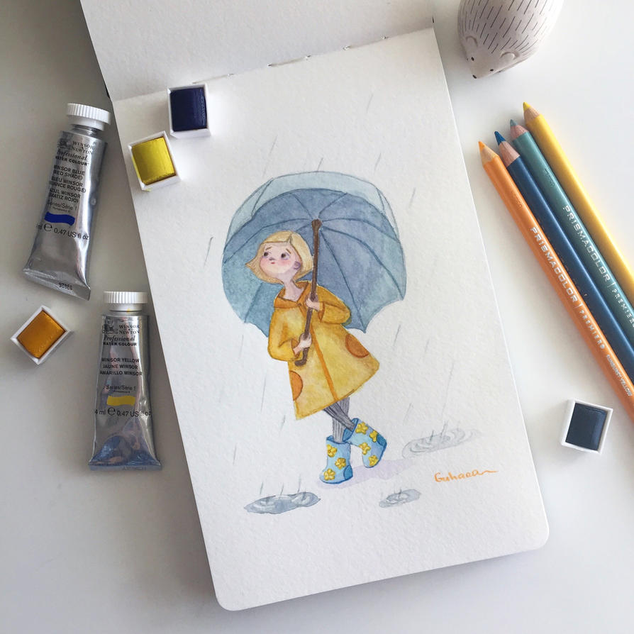 rainy days are fun! by gmirzaka