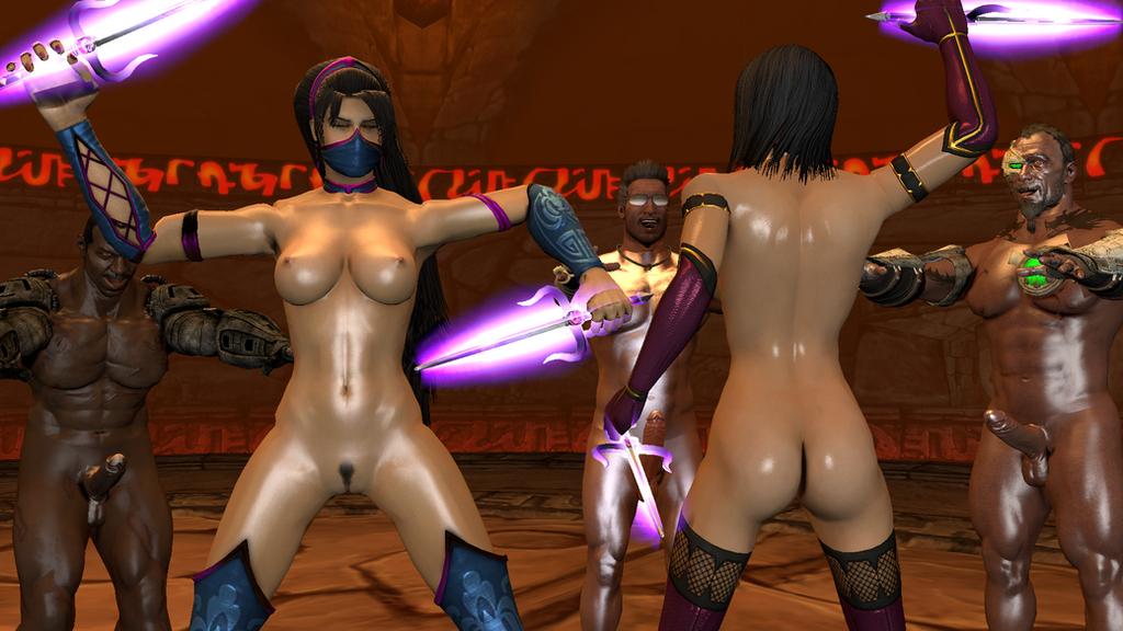 Brest naked mileena mortal kombat nude