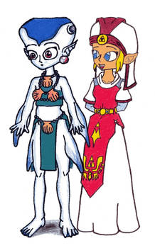 Zelda and Ruto