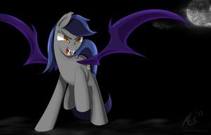 Echo the Bat Pony by CiscoQL