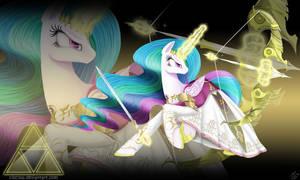 Princess Zelestia of the Hyrule Kingdom