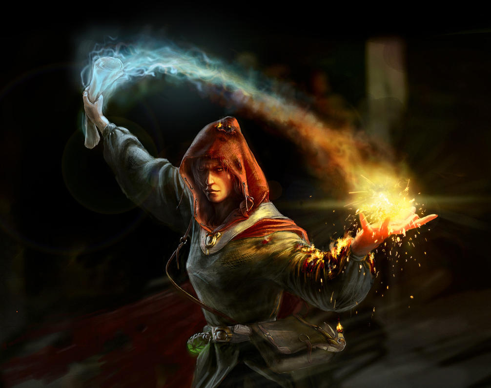 Fire mage by Eliag1101