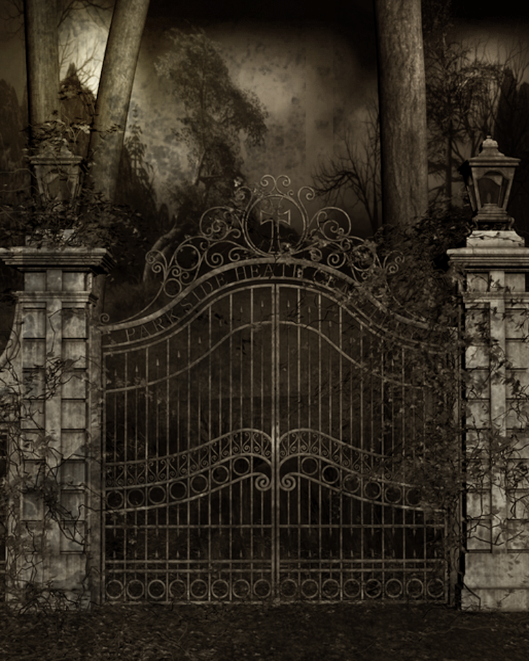 Cemetery gates old movies by blackdragynstock on deviantart