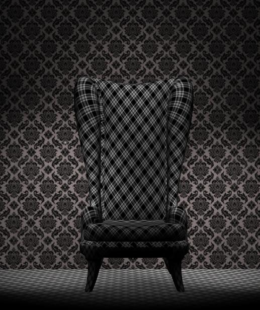 Chair 1 by BlackDragynStock
