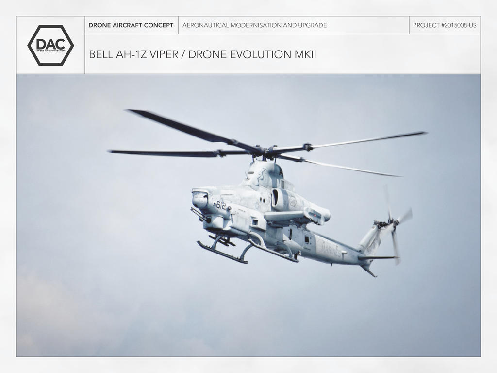 Bell AH 1Z Viper Drone Evolution MK II By Droneaircraftconcept