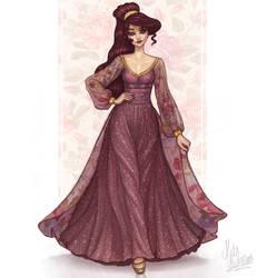 Megara by MidaIllustrations