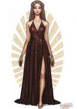 Sparkly Night Dress III