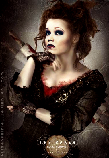 Tarja as Mrs. Lovett by eLizArFeiNieL