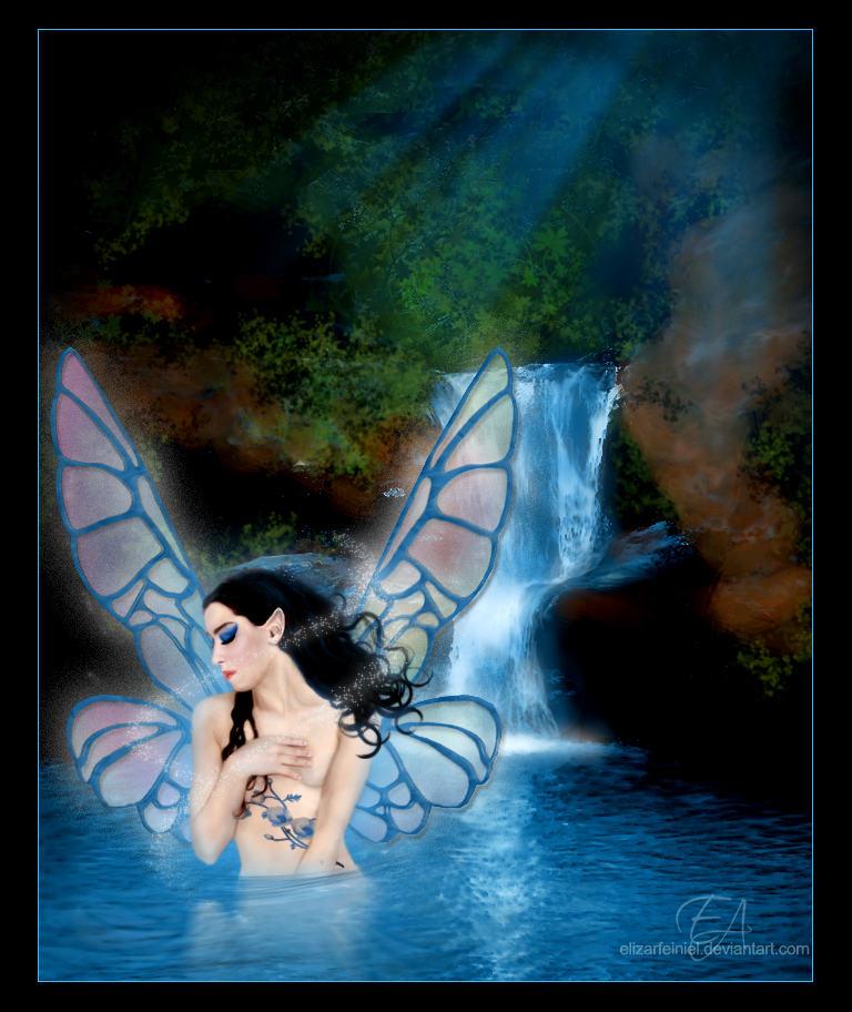 Water Fairy Pictures Water fairy by elizarfeiniel