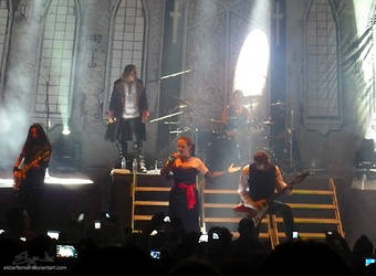 Therion at Mexico City III by eLizArFeiNieL