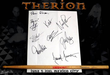 My Therion Trophys by eLizArFeiNieL