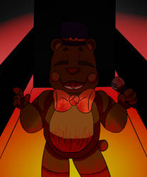- Freddy Fazbear - by OmegaSaturn