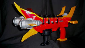 Gokaiger GokaiGalleon Buster 1 by LinearRanger