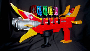 Gokaiger GokaiGalleon Buster 2 by LinearRanger