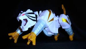 Power Rangers Samurai - Tiger Zord by LinearRanger