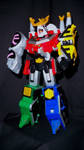 Power Rangers Samurai - Tiger Drill Megazord