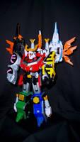 Power Rangers Samurai - Samurai BattlewingMegazord by LinearRanger