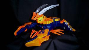 Power Rangers Samurai - Claw Zord by LinearRanger