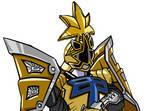 Light Shogun Ranger Art