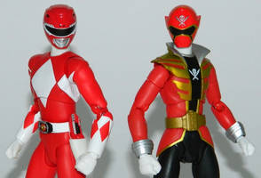 Power Rangers 20th Anniversary - Red Figuarts 1