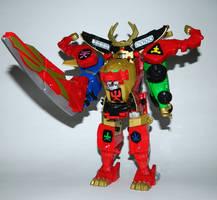 Legendary Samurai Megazord - Fire Smasher by LinearRanger