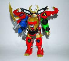 Legendary Samurai Megazord by LinearRanger